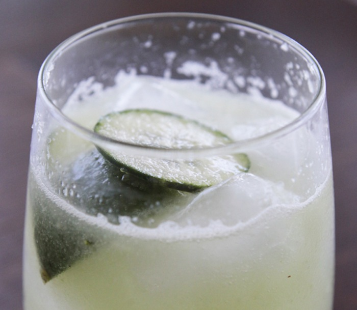 Cucumber Lime Fizz