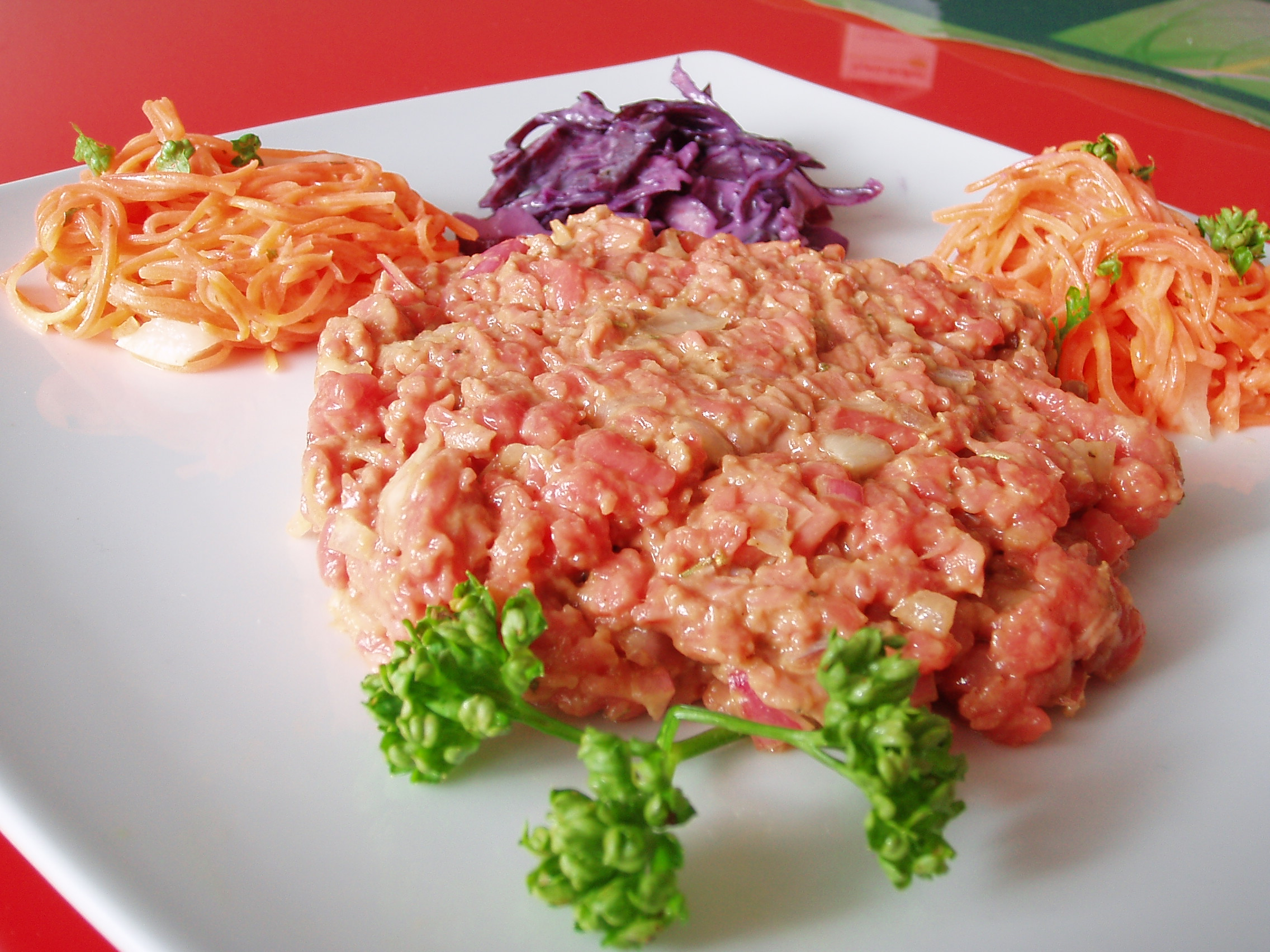 Steak tartare à la sauce soja