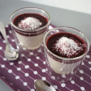 Panna Cocotta aux Fruits Rouges