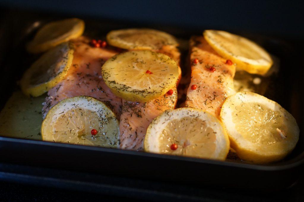 Saumon au Citron