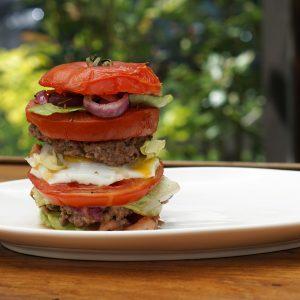 Double Tomato Burger