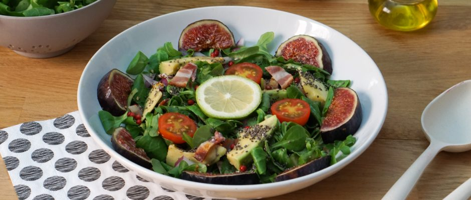 Salade de Figues au Bacon