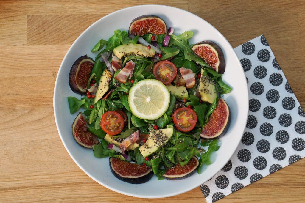 Salade de Figues au Bacon