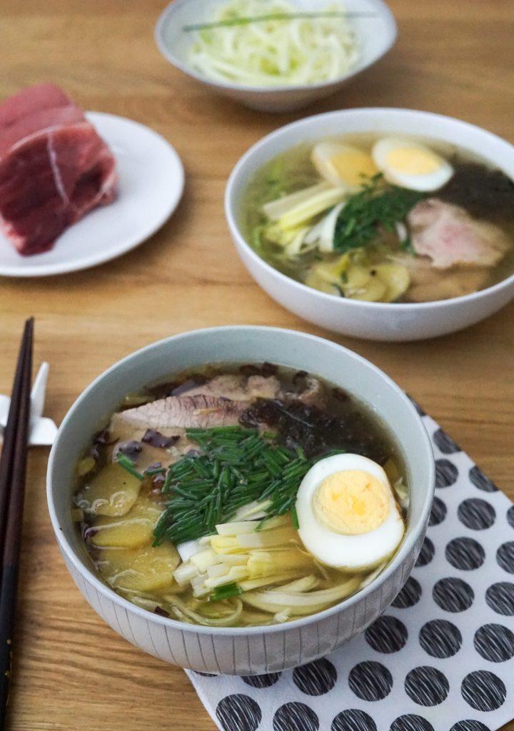 Ramen Japonais au Porc