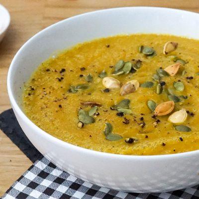 Soupe de Potiron au Curry