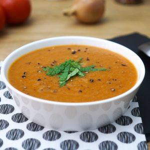 Soupe a la Tomate et aux Oignons