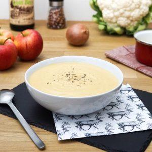 Soupe de Chou-fleur au Cidre