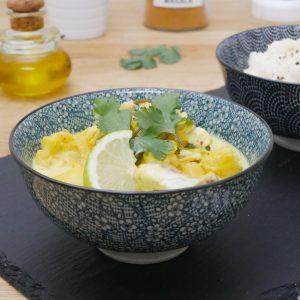 Curry de Poisson à lAnanas