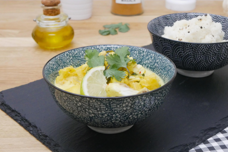 Curry de poisson l 39 ananas pal o r gime for Regime ananas