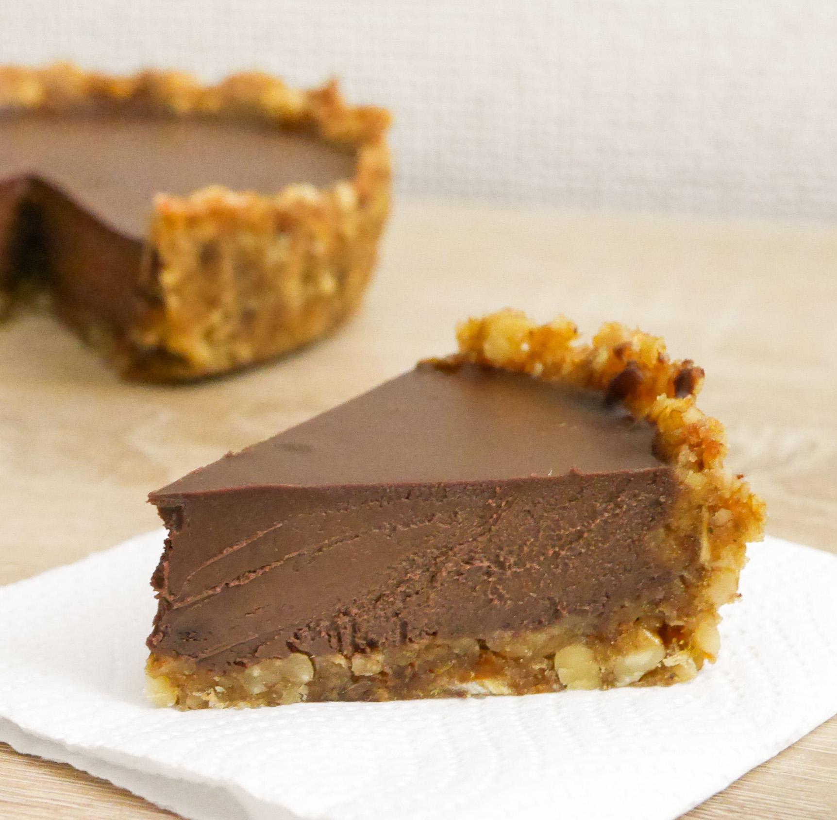 tarte au chocolat paléo paléo régime