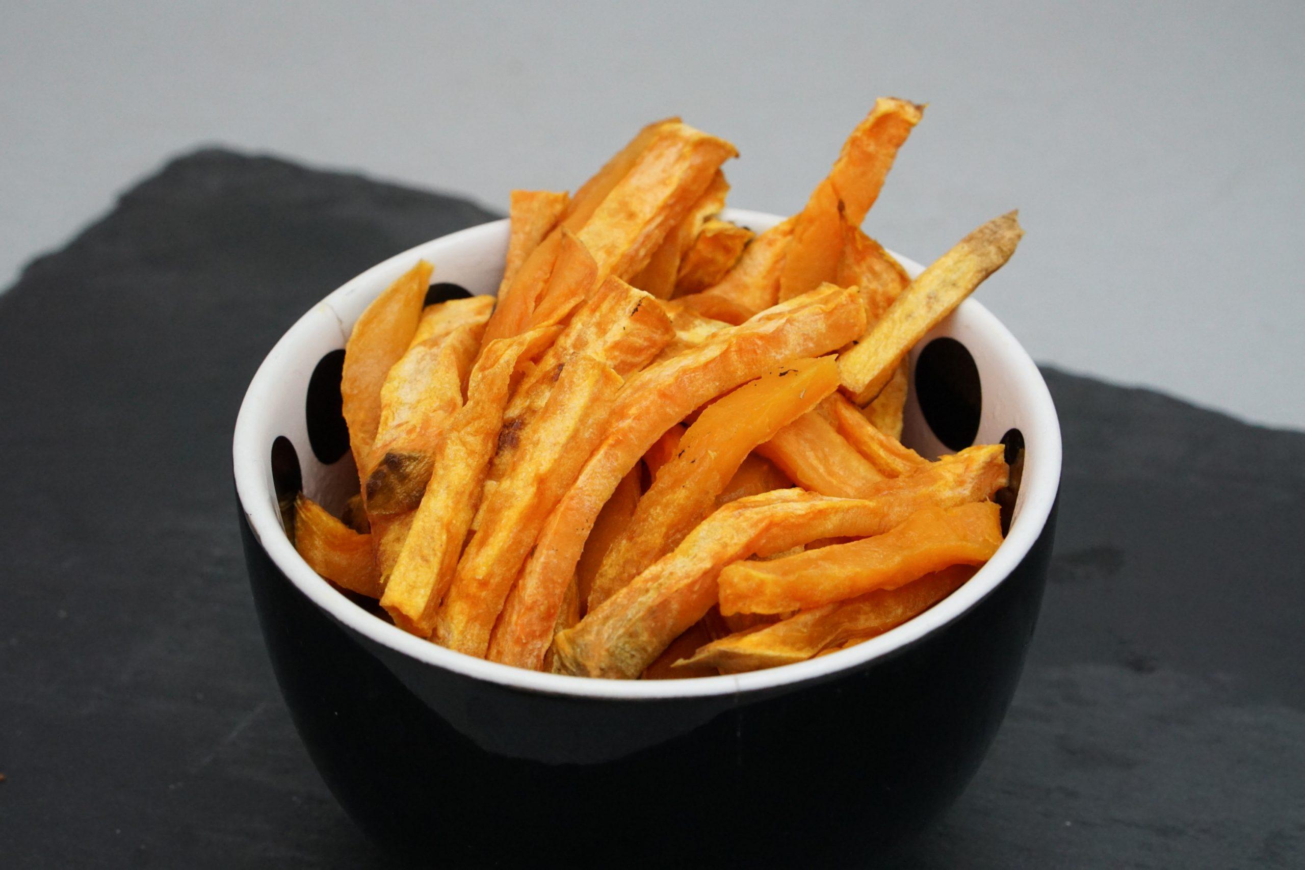 Frites de Patates Douces • Paléo Régime
