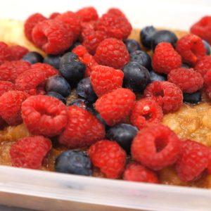 Compote de Pomme aux Fruits Rouges