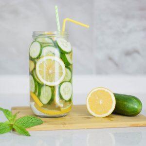 Eau Detox Citron Concombre