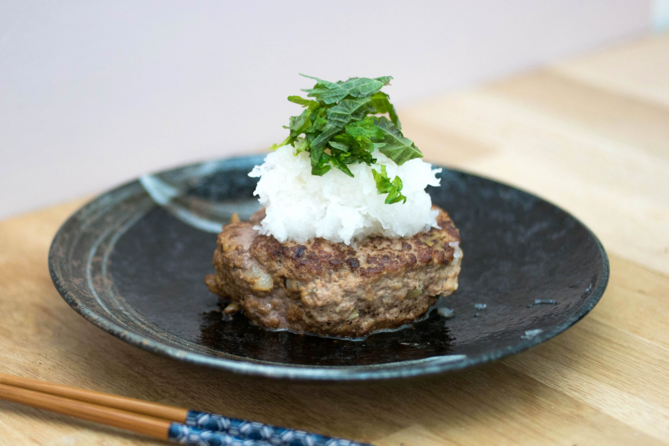 Steak haché à la Japonaise